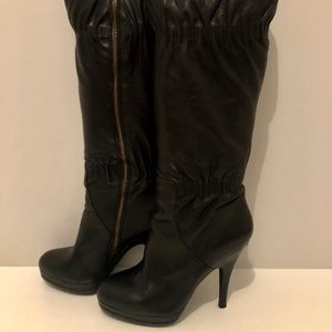 Michael Kors Webster Leather Boot